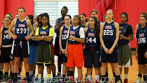 USA U16 Trials photo courtesy of Prospectsnation.com